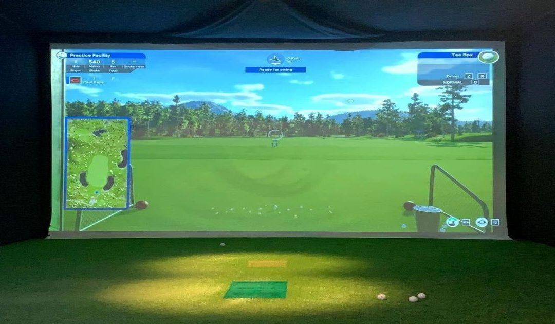 Physioplus indoor golf simulator
